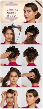 1920 Hair Style 1920s inspired hairstyle tutorial alldaychic 4667 by wearticles.com