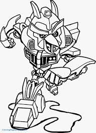 Optimus Prime Coloring Page Unique Transformers Rescue Bots Morbot