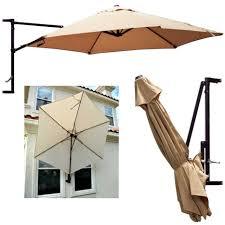 wall mounted outdoor umbrella holder designs