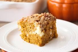 Pumpkin Cream Cheese Coffee Cake Kraft Recipes