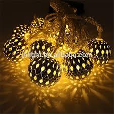 moroccan outdoor lighting. 10 Balls Moroccan Solar String Lanterns Christmas Tree Indoor Outdoor Lighting Balls, Led N