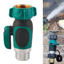 3 4 inch garden hose. 3/4 Inch Garden Hose 1 Way Shut-off Valve Water Pipe Faucet Connector 3 4 L