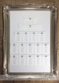 18 best elsa collection images on pinterest handmade wedding Crystal Wedding Invitation Frame the elsa collection framed table plan seating chart featuring white velvet ribbon, white · handmade wedding invitationswedding Rhinestone Wedding Invitations