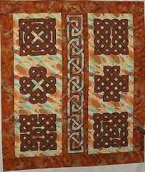 celtic #knot #quilt by Kathy Johnson, found on http://www ... & Crafts with Celtic knots and patterns for craft projects. Celtic knotwork  designs for arts and crafts. Adamdwight.com