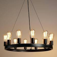 inexpensive chandelier lighting best chandelier ideas on white crafted of iron with an industrial style black finish our exclusive round