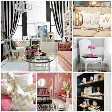 Pink Black And White Bedroom Love The Black White Pink And Gold Theme So Classic And Girly