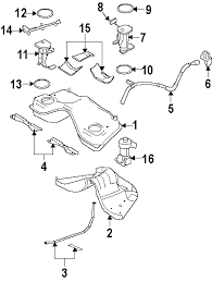 mustang engine parts diagram parts com® ford mustang fuel system components oem parts 2005 ford mustang base v6 4