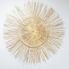 amazing wicker wall decor paints basket art with woven baskets as half for storage chic idea