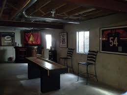 Man Cave Unfinished Basement Inspirational DIY Projects - Unfinished basement man cave ideas