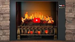 realistic fireplace how do electric