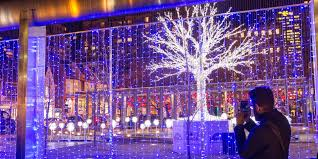 Eagle Point Park Christmas Lights Festive Decorative Lighting For Tourist Attractions Mk