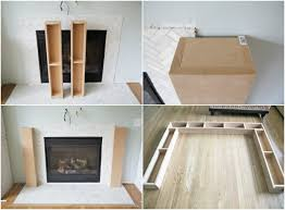 making a fireplace surround
