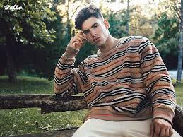 Armando Smith para BELLO Magazine por Kevin Sikorski - Male Fashion Trends