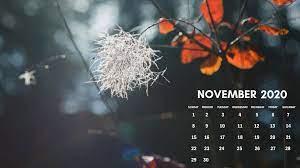 November 2020 calendar wallpaper for ...