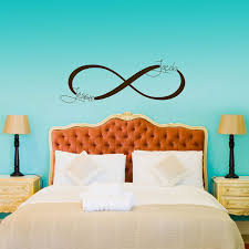 aliexpress buy personalized couple name wall decal always with personalized wall decals prepare  on custom vinyl wall art stickers with infinity symbol monogram personalized custom wall decals in