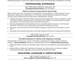 Lpnver Letter Examples Licensed Practical Nurse Resume Sample