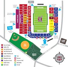 Troy University Stadium Seating Chart 72 Most Popular Lane Stadium Seating Chart With Seat Numbers