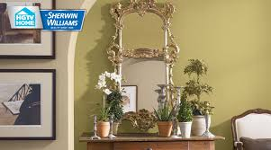 Sherwin Williams Green Color Chart Rustic Refined Paint Color Collection Hgtv Home By