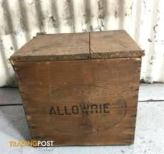 vintage wooden te er old rustic crates for fruit