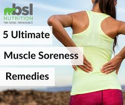5 ultimate muscle soreness remes