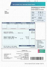 Bills Template Free Fake Utility Bill Template The Free Website Templates Fake Utility 11