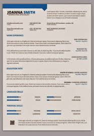 1 Page Resume Template Best Resume Guidelines Layout 48 Page