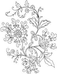 Free Printable Spring Flower Coloring Pages Advanced Flower Coloring