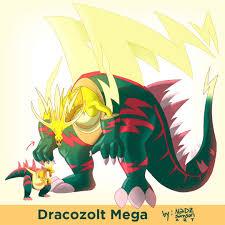 Dracozolt Mega Form by rsam on DeviantArt in 2020 | Cute pokemon wallpaper,  Pokemon drawings, Pokemon