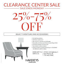 furniture sale ads. Havertys Furniture Sale Clearance Center Shopping Ads From X Outdoor