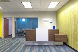 Colorful office space interior design Blue The Planning Interiors Office Is Perfect Example Of An Office With Bright And Bold Color Palette We Focused On Keeping The Space Bright And Inspiring Planning Interiors How To Choose An Office Color Scheme Planning Interiors Inc
