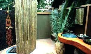 outdoor bathroom plans indoor design ideas outside bathrooms amazing club shower designs
