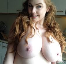Busty redhead slutwife boobs