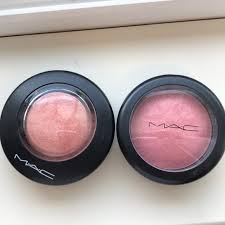 mac mineralize blush dainty and new romance