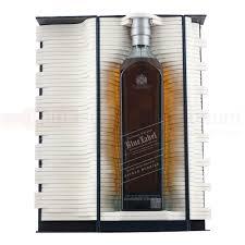 johnnie walker blue label alfred dunhill whisky 70cl gift set drinksupermarket