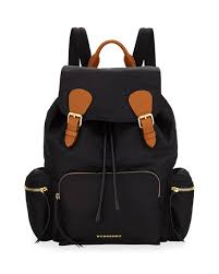 Designer Backpacks: Nylon & Leather at Neiman Marcus & Medium Rucksack Runway Nylon Backpack, Black Adamdwight.com
