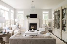 white interior color with classic fireplace for charming living room ideas with nice carpet color