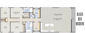 houseplans black rectangular story house plans floor plan de