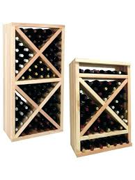 wood diamond wine rack home and furniture