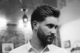 style long hairstyle for men with beard