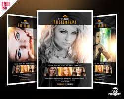 free dance flyer templates download professional photography flyer psd psddaddy com