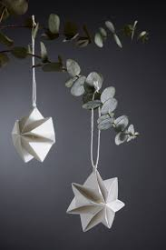 Paper Decorations Christmas 17 Best Ideas About Paper Christmas Decorations On Pinterest