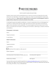 Photo Model Release Form Templates At