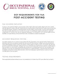 post-accidentfaa - DISA- Formerly Occupational Drug Testing