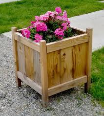 cedar planters for less than 20 ana