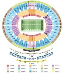 Rose Bowl Tickets In Pasadena California Rose Bowl Seating