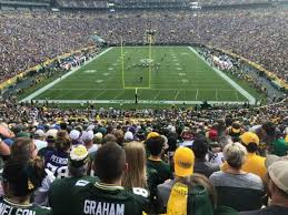 Lambeau Field Section 100 Home Of Green Bay Packers