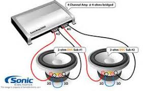 similiar dual 4 ohm sub wiring to 2 ohm keywords ohm dual voice coil subwoofer wire diagram as well 4 ohm subwoofer