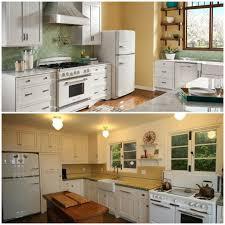 White Appliance Kitchen Sparkling White Kitchens With Big Chill Appliances