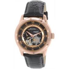 bulova men s 97a116 stainless steel rose gold tone swiss made bulova men s 97a116 stainless steel rose gold tone swiss made watch shipping today overstock com 17438272