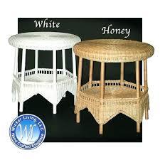 round wicker end table brilliant classic coastal pertaining regarding rattan coffee glass top cla